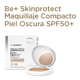Be+ Skinprotect Maquillaje Compacto Piel Oscura SPF50+